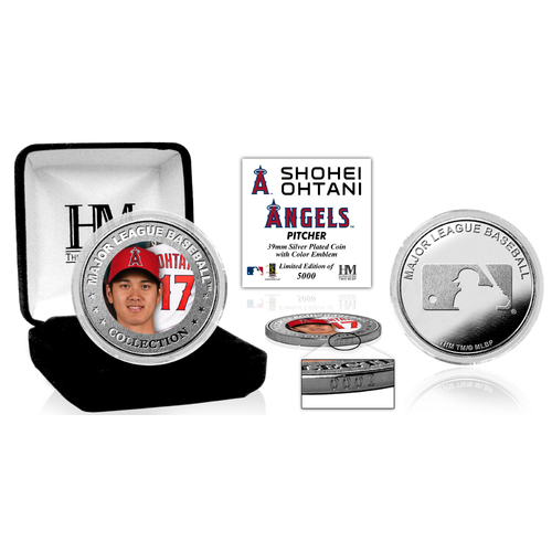 Photo of Shohei Ohtani Silver Color Coin