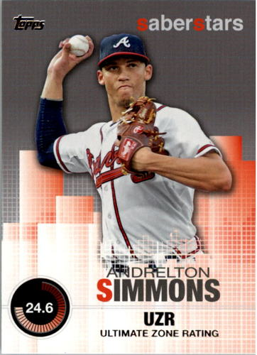 Photo of 2014 Topps Saber Stars #SST21 Andrelton Simmons