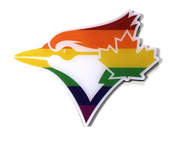 Toronto Blue Jays Pride Magnet by PSG