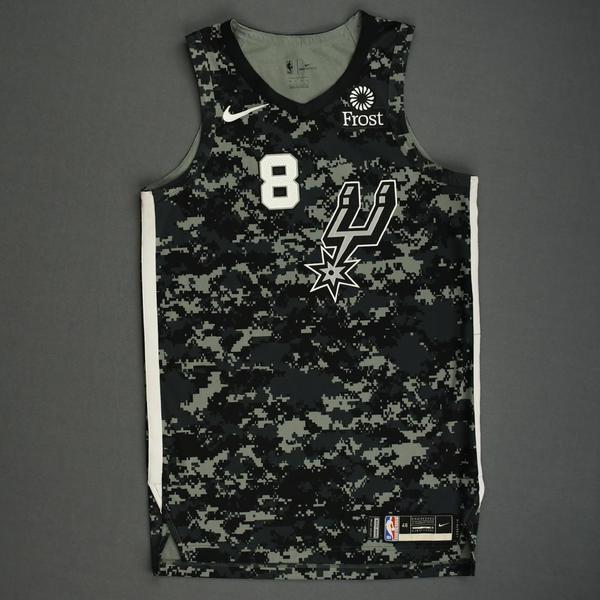 Image of Patty Mills - San Antonio Spurs - Game-Worn City Edition Jersey - 2019-20 Season