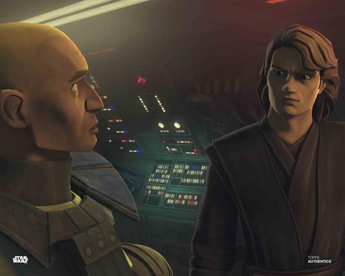 Anakin Skywalker and Captain Rex