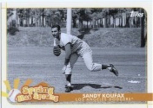 Photo of 2020 Topps Opening Day Spring Has Sprung #SHS4 Sandy Koufax