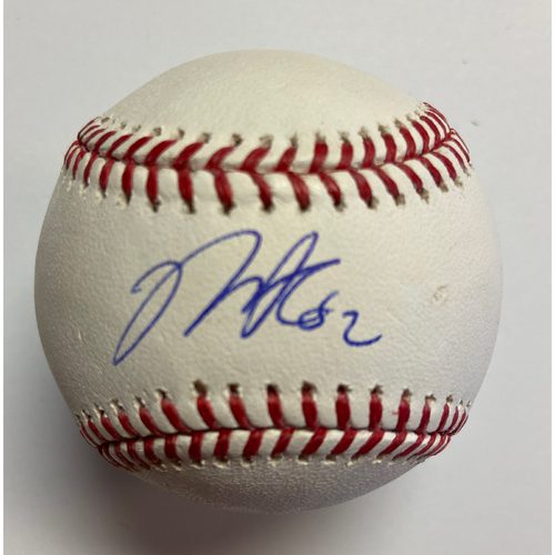 Photo of Mike Clevinger Autographed Authentic Baseball