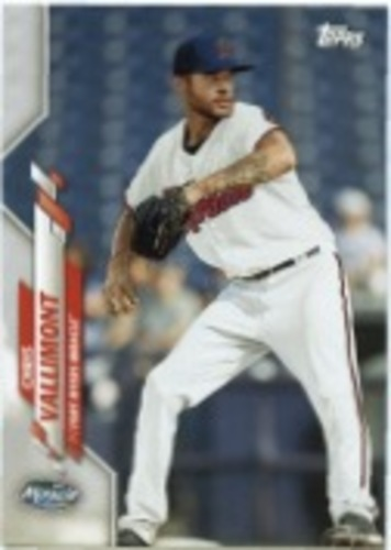 Photo of 2020 Topps Pro Debut #PD82 Chris Vallimont