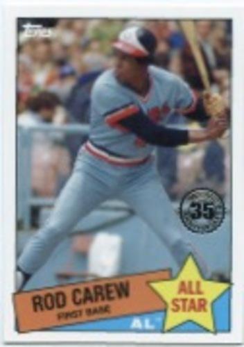 Photo of 2020 Topps '85 Topps All Stars #85AS35 Rod Carew