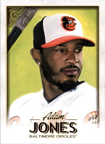 Photo of 2018 Topps Gallery #113 Adam Jones