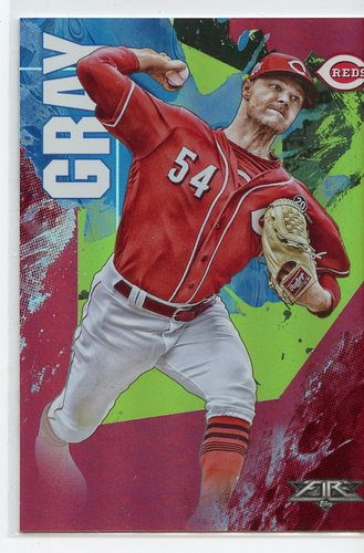 Photo of 2019 Topps Fire Flame #161 Sonny Gray