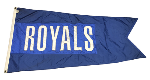 Photo of Wrigley Field Collection -- Rooftop Flag -- Royals