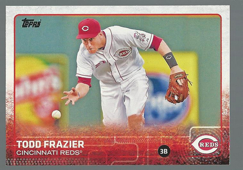 Photo of 2015 Topps #42 Todd Frazier