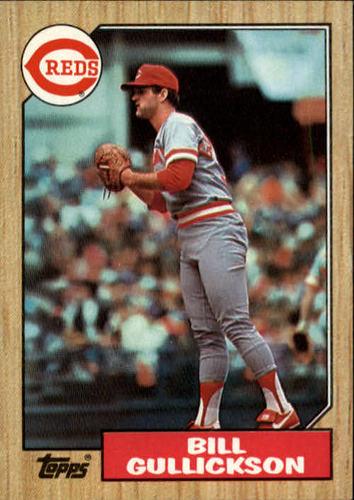 Photo of 1987 Topps #489 Bill Gullickson