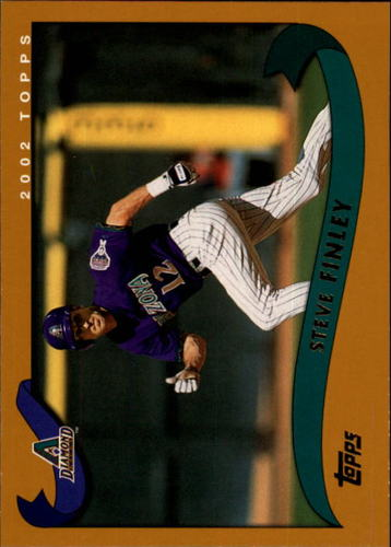 Photo of 2002 Topps #522 Steve Finley