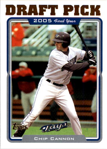 Photo of 2005 Topps #684 Chip Cannon FY RC