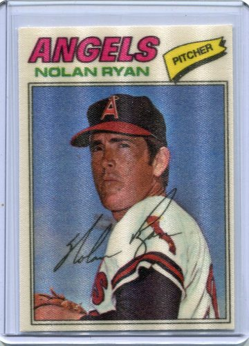 Photo of 1977 Topps Cloth Stickers #40 Nolan Ryan SP
