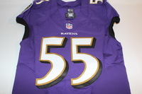 BCA - RAVENS TERRELL SUGGS GAME ISSUED RAVENS JERSEY (OCTOBER 9 2016)