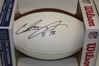 NFL - JETS CHRIS IVORY SIGNED PANEL BALL