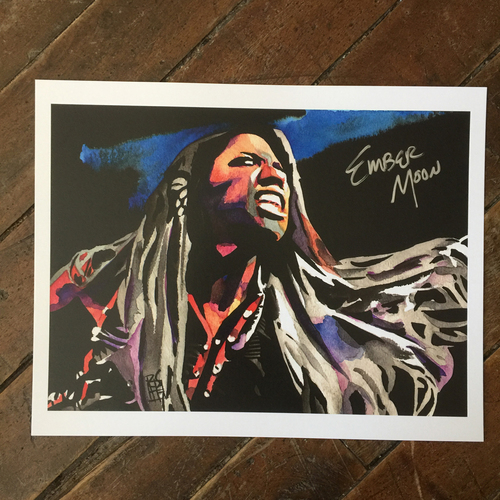 Photo of Ember Moon SIGNED 11 x 14 Rob Schamberger Print