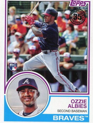 Photo of 2018 Topps '83 Topps #8340 Ozzie Albies