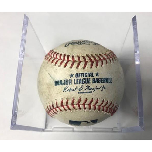 Photo of Game-Used Baseball: Jose Iglesias and Alex Presley Single