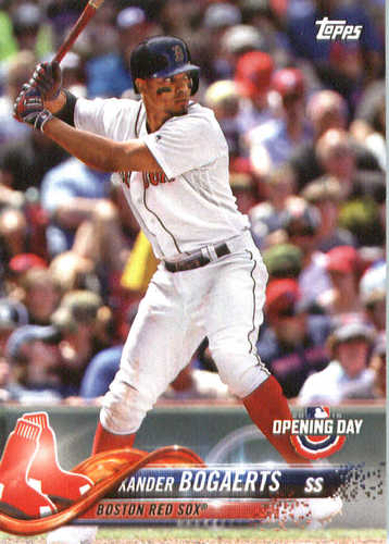 Photo of 2018 Topps Opening Day #149 Xander Bogaerts