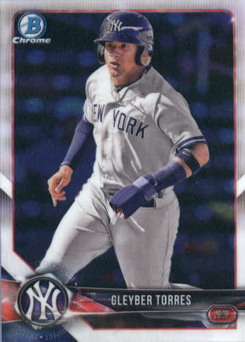 Photo of 2018 Bowman Chrome Prospects #BCP100 Gleyber Torres