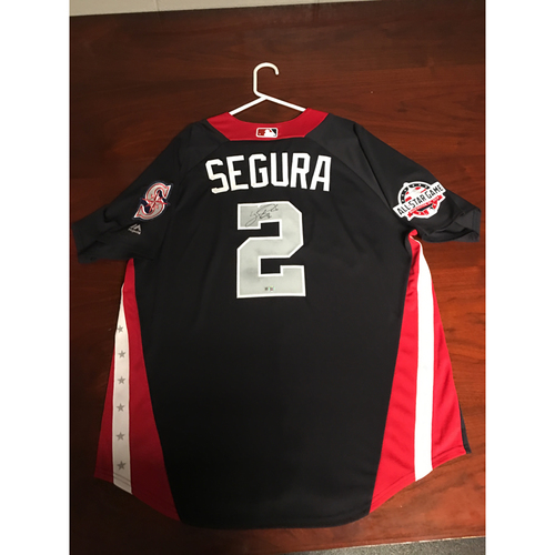 Photo of Jean Segura 2018 Major League Baseball Workout Day Autographed Jersey