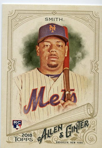 Photo of 2018 Topps Allen and Ginter #217 Dominic Smith RC
