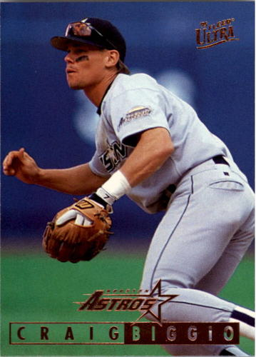 Photo of 1995 Ultra #384 Craig Biggio