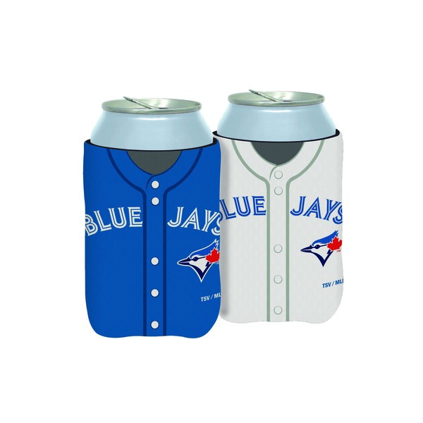Toronto Blue Jays Reversible Jersey Mesh Can Cooler by The Sports Vault