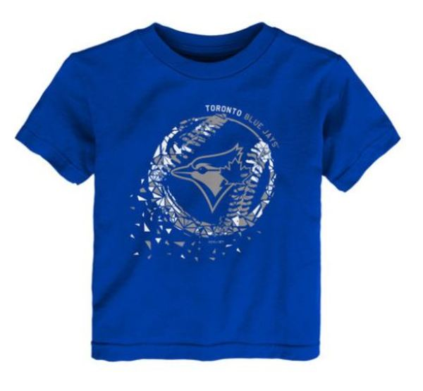 Toronto Blue Jays Toddler Shatter Ball T-Shirt by Majestic