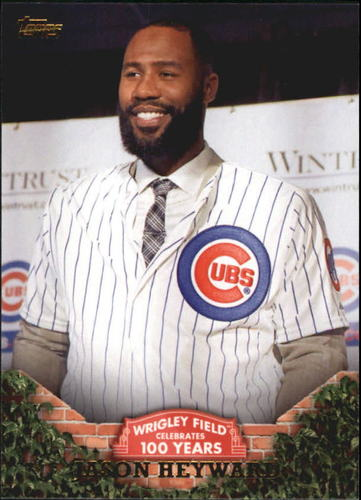 Photo of 2016 Topps 100 Years at Wrigley Field #WRIG40 Jason Heyward