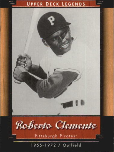 Photo of 2001 Upper Deck Legends #83 Roberto Clemente