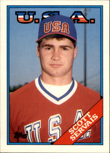 Photo of 1988 Topps Traded #106T Scott Servais OLY XRC