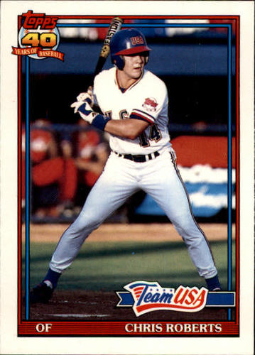 Photo of 1991 Topps Traded #98T Chris Roberts USA RC