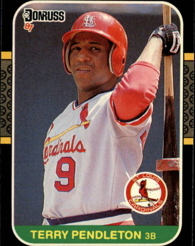 Photo of 1987 Donruss #183 Terry Pendleton
