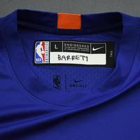 RJ Barrett - 2020 NBA Rising Stars - Team World - Warm-up and Game-Worn Shooting Shirt