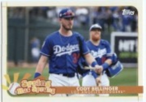 Photo of 2020 Topps Opening Day Spring Has Sprung #SHS13 Cody Bellinger