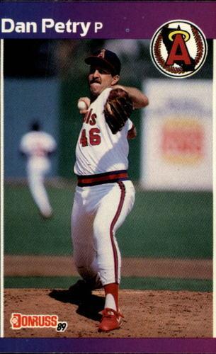 Photo of 1989 Donruss #344 Dan Petry