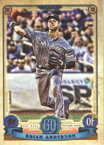 Photo of 2019 Topps Gypsy Queen #256 Brian Anderson
