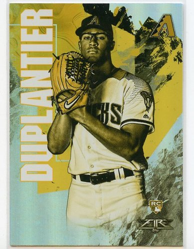 Photo of 2019 Topps Fire Gold Mint #91 Jon Duplantier