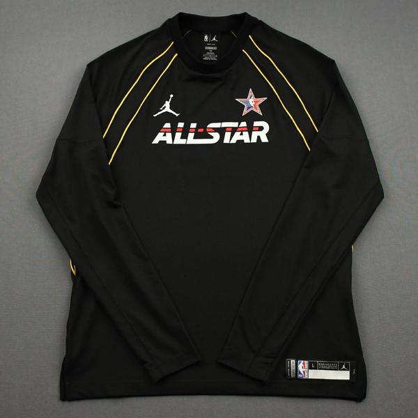 Image of James Harden - Game-Issued 2021 NBA All-Star Long-Sleeved Shooting Shirt