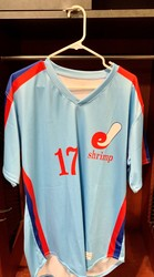 Photo of Jacksonville Expos Fauxback Jersey #17 Size 46