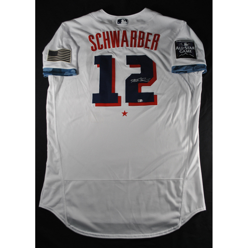 Photo of Kyle Schwarber 2021 Major League Baseball All-Star Game Autographed Jersey