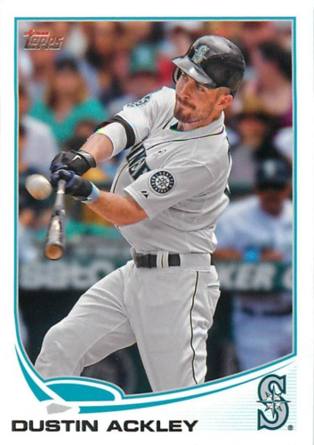 Photo of 2013 Topps #252 Dustin Ackley