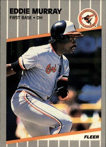 Photo of 1989 Fleer Glossy #611 Eddie Murray