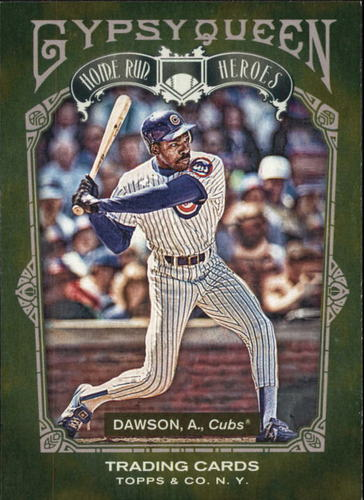 Photo of 2011 Topps Gypsy Queen Home Run Heroes #HH16 Andre Dawson