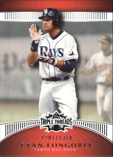 Photo of 2010 Topps Triple Threads #85 Evan Longoria