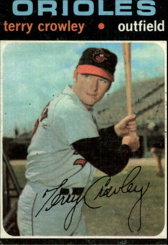 Photo of 1971 Topps #453 Terry Crowley