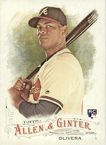 Photo of 2016 Topps Allen and Ginter #232 Hector Olivera RC