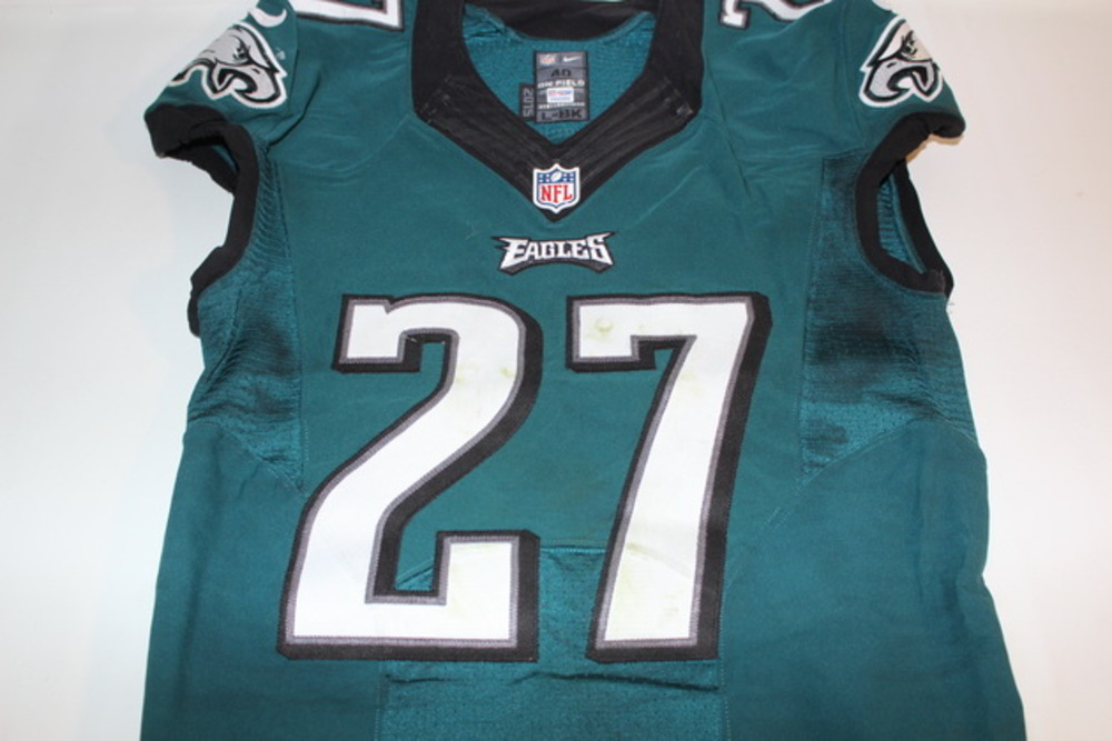 NFL Auction | STS - EAGLES MALCOLM JENKINS GAME WORN EAGLES JERSEY ...
