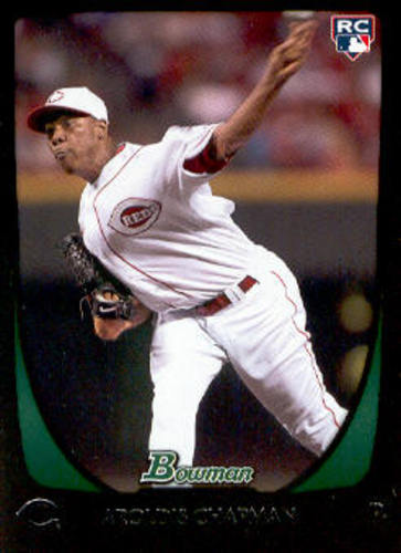 Photo of 2011 Bowman #197 Aroldis Chapman Rookie Card